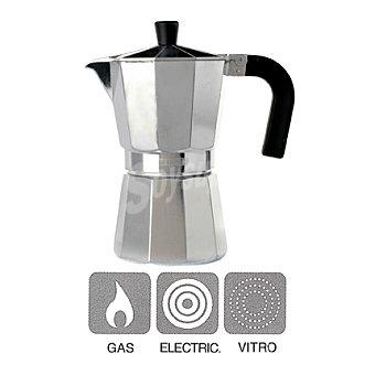 Cafetera aluminio mod vitro expre 3 tazas 1 ud