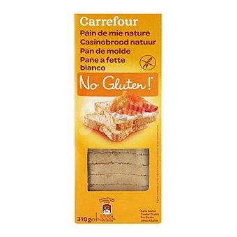 Carrefour-No gluten Pan de molde - Sin Gluten 310 g