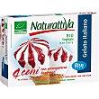 Bio mini conos de helado italiano de arroz sabor nata y fresa ecológicos y sin lactosa  caja 480 ml 4 unidades NATURATTIVA
