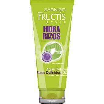 Fructis Garnier Aqua gel hidra rizos fijación fuerte y flexible Tubo 200 ml