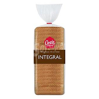 Ortiz Pan de molde integral 480 g