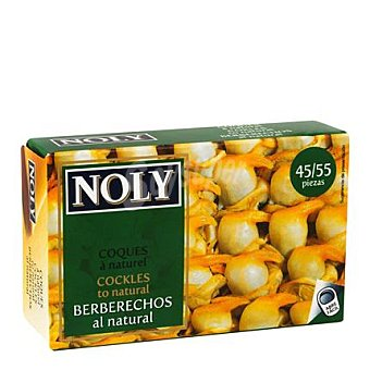 Noly Berberechos al natural 40/50 65 g