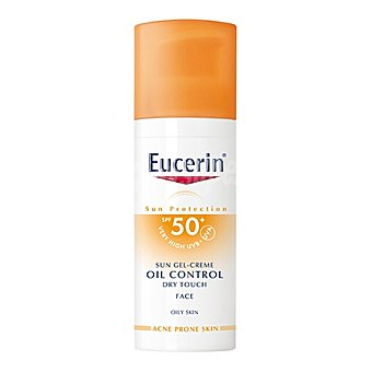 Eucerin Gel-crema solar Oil Control Dry Touch FP 50+ 50 ml