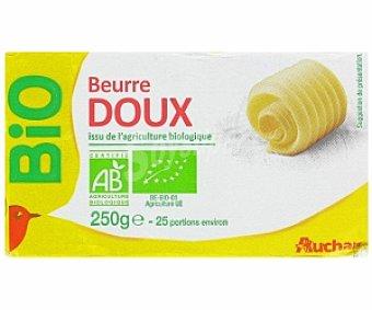 AUCHAN Mantequilla biológica 250 Gramos