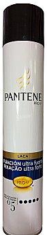 PANTENE Laca fijación cabello ultra fuerte Bote 250 cc