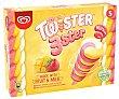 Polo de vainilla con preparado de mango y fresa twster 3ster de Frigo 5 x 70 ml Twister