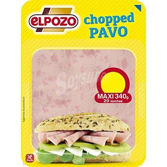 ElPozo Chopped de pavo 21 lonchas Envase 360 g