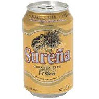 Sureña Cerveza pilsen Lata 33 cl