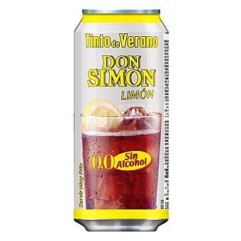 Don Simón Tinto de Verano con Limón Sin Alcohol Lata de 33 Centilitros