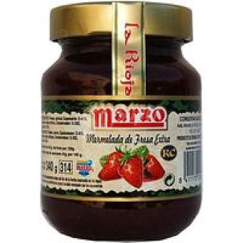 Marzo Mermelada de fresa Tarro 400 g
