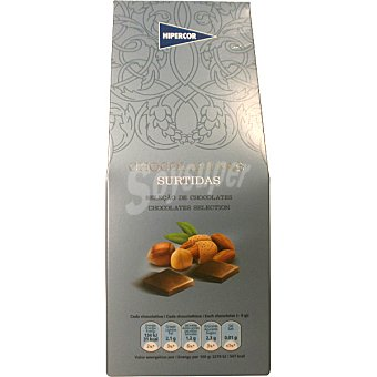 Hipercor Chocolatinas surtidas Estuche 200 g