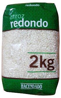 Hacendado ARROZ REDONDO PAQUETE 2 kg