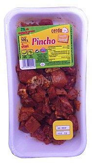 Jovi Pincho cerdo magro jamon amarillo perejil s/varilla fresco Bandeja de 500 g