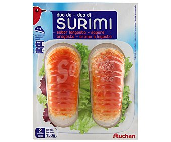 Auchan Colas de mar Pack 2 unidades de 75 gramos