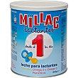 1 leche para lactantes desde el primer día con Oliva y Omega 3 Y 6 estuche 800 g Millac