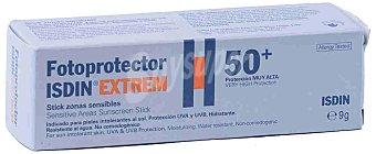 Isdin Fotoprotector SPF50+ stick color para zonas sensibles 7 g