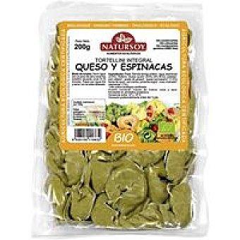 Natursoy Tortellini integral-queso-espinacas Paquete 250 g