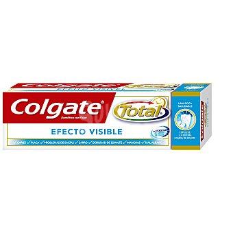 Colgate Total Pasta de dientes con flúor y acción blanqueante efecto visible advanced Tubo 75 ml