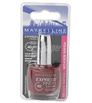 Maybelline New York Laca de uñas express finish 77 red seduction 1 laca de uñas