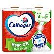 Papel de cocina Mega XXL 4 unidades Colhogar