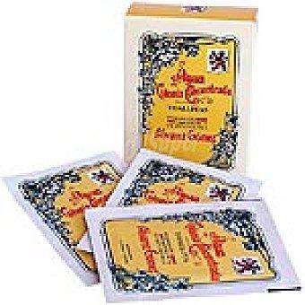ALVAREZ GOMEZ Agua de colonia concentrada caja 10 toallitas