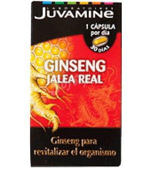 Juvamine Ginseng con jalea real en cápsula 30 ud