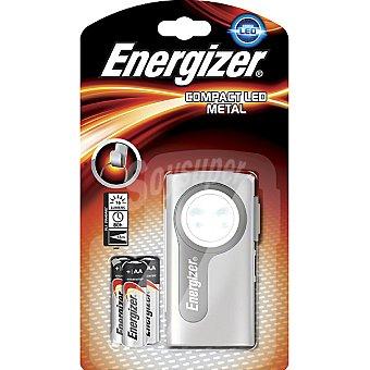 Energizer Linterna compacta led distancia de iluminación 55 m inlcuye 3 pilas AA blister 1 unidad 1 unidad