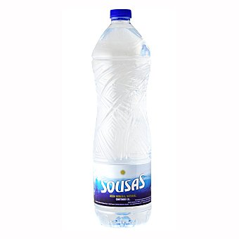 Sousas Agua mineral natural Botella 1,5 litros