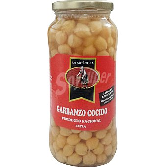 la Autentica Garbanzos cocidos al natural Frasco 400 g