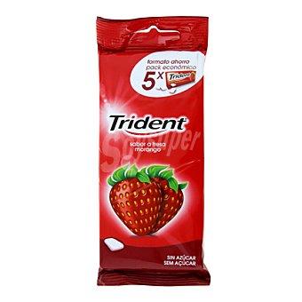 Trident Chicles sabor fresa sin azúcar 73 g
