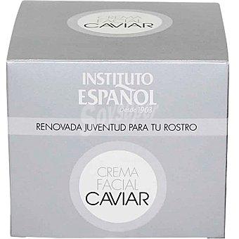 INSTITUTO ESPAÑOL Crema nutritiva Caviar renovada juventud para tu rostro Tarro 50 ml