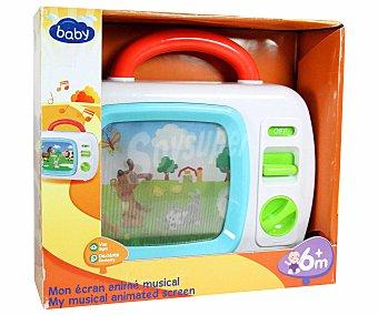 Baby Mi Primera Televisión, con imágenes en movimiento 1 Unidad