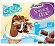 Conos con helado de nata y chocolate Royne sin gluten sin lactosa 4 ud Special Line