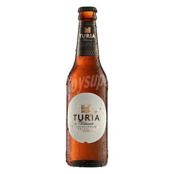 TURIA Märzen Cerveza tostada de Valencia Botella 25 cl