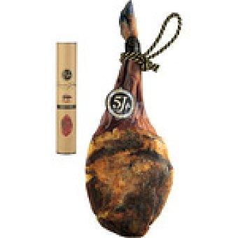 CINCO JOTAS Paleta de bellota 100% ibérica pieza 4,5-5 kg con regalo de 1/2 caña de presa ibérica 4,5-5 kg