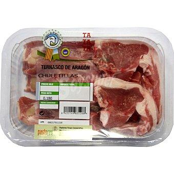 PASTORES Cordero ternasco de Aragón chuletillas unidad 180 g Unidad 180 g