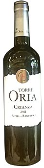 TORRE ORIA Vino tinto Utiel Requena crianza Botella de 75 cl