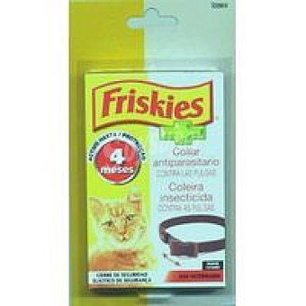 Friskies Purina Collar marrón para gatos Pack 1 unid