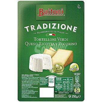 Buitoni Tortelloni Piaceri verdi fresco relleno con grana padano ricotta y pecorino Bandeja 250 g