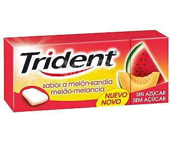 Trident Chicles sabor a melón-sandia 14,5 gramos