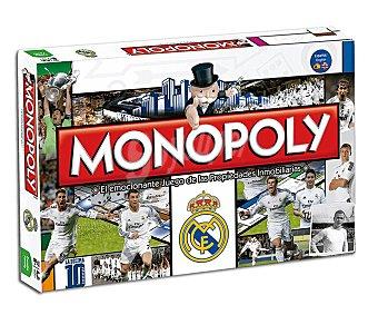 Real Juego de Mesa Monopoly edición Madrid,de 2 a 6 jugadores, monopoly edición Real Madrid,de 2 a 6 jugadores, monopoly