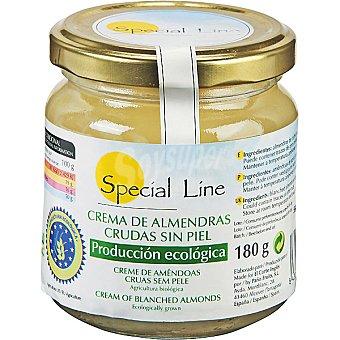 Special Line Crema de almendras crudas sin piel Frasco 180 g