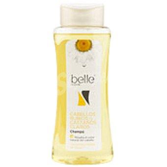 Belle Champú cabello rubio  Bote 400 ml