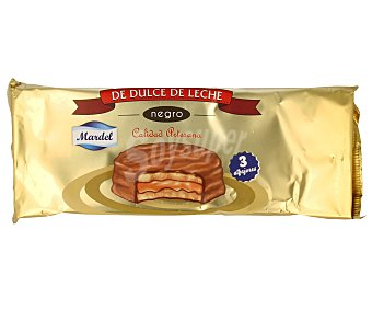 Mardel Alfajores de chocolate con dulce de leche 150 gramos