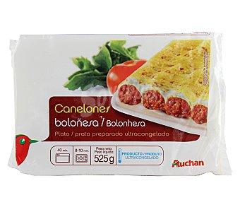 Auchan Canelones a la boloñesa 525 gramos