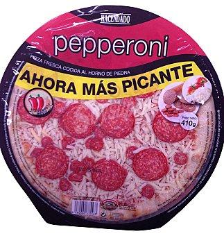 HACENDADO Pizza fresca pepperoni (más picante) 410 g