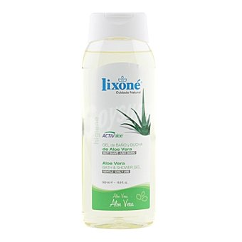 Lixone Gel de baño y ducha aloe vera 500 ml