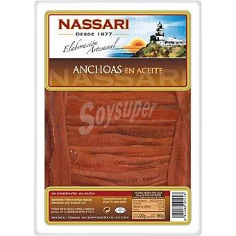 NASSARI Anchoas en aceite Tarrina de 160 g neto escurrido