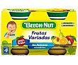 Tarrito de fruta (piña, pera, naranja, plátano y melocotón) 2 x 130 g Beech-Nut