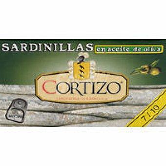 Cortizo Sardinilla en aceite de oliva Lata 63 g